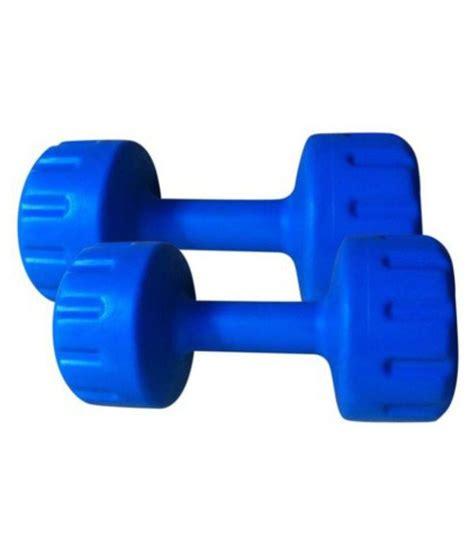 Dumbell 5 Kg Plastik Bodygrip 2 5 Kg Blue Plastic Dumbbell Buy At Best