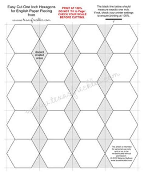 pics for gt 2 inch hexagon template