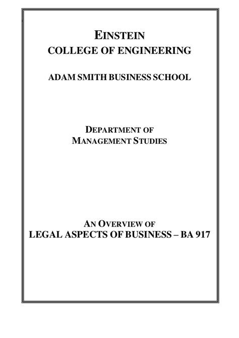 Aspects Of Business Mba Notes Pdf by Aspects Of Business Master Notes