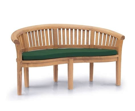 banana benches banana bench cushion lindsey teak