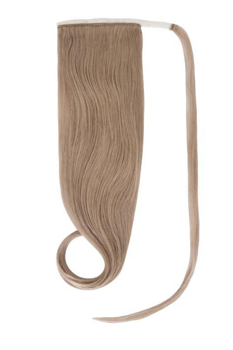 halo hair extension ponytail ponytail halo hair extensions in dark ash blonde 17 17