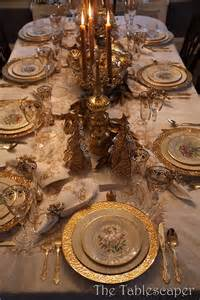 Beautiful Elegant Table Settings Pictures 50 Stunning Christmas Tablescapes Style Estate