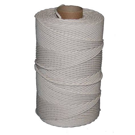 Cotton Rope Home Depot by T W Cordage 72 1000 Ft Cotton Line Seine