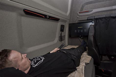 scania cabina lunga a evoluat dormitul 238 n cabina camioanelor de cursă lungă