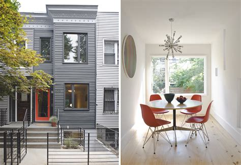 home design firm brooklyn this park slope townhouse is just 12 feet wide 6sqft