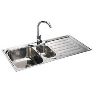 Stainless Steel Sinks For Kitchen Astini Magnum 1 5 Bowl Brushed Stainless Steel Kitchen Sink Waste As1021 Astini From Taps Uk
