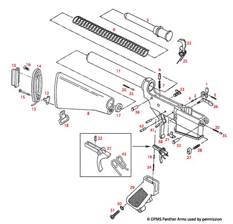 ar 15 breakdown diagram complete lower assembly all models top supplier