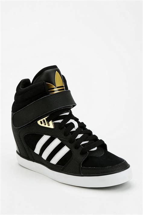 adidas wedge sneakers lyst outfitters adidas amberlight wedge