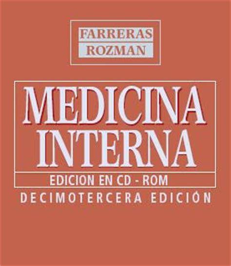 libro di medicina interna la biblioteca de house medicina interna farreras rozman