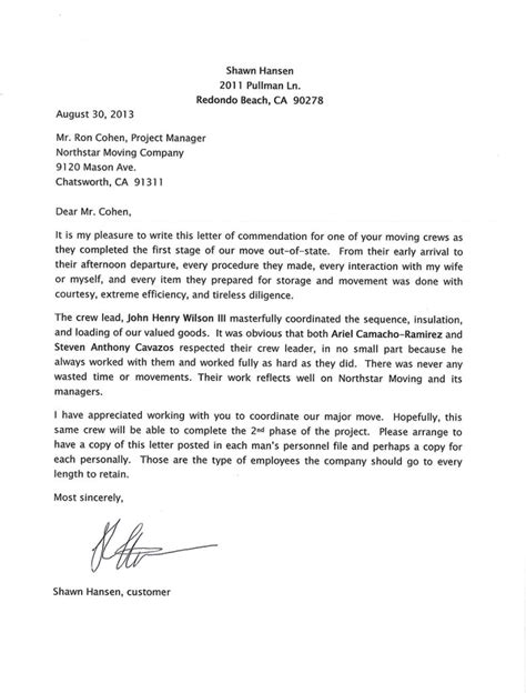 letter of recommendation fresh sample recommendation letter for