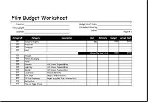Event Budget Template » Home Design 2017