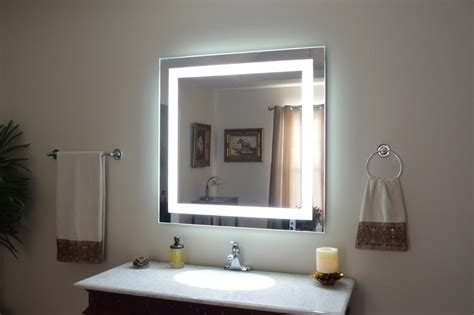popular of lighted bathroom mirrors for house decorating popular lighted vanity mirror all about home design
