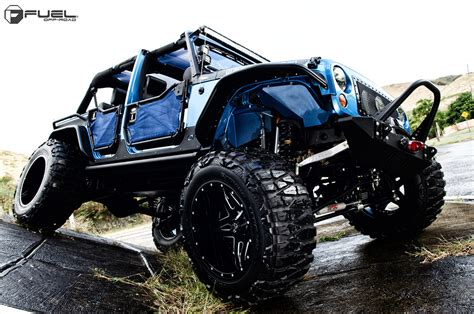 Jeep Wrangler Fuel Wheels Jeep Wrangler W 24 Blown Fuel Wheels 40 Mud