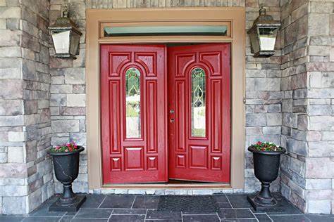 red front door to boost positive energy of your house red front door to boost positive energy of your house