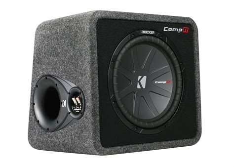 Kickers Size 36 40 1 kicker compr 12 inch single loaded enclosure 40vcwr122