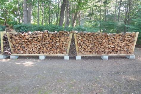 build firewood rack cheap firewood rack using no tools stables middle and firewood