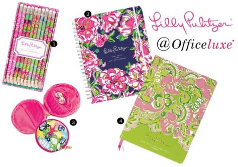 lilly pulitzer desk accessories lilly pulitzer office and supplies office