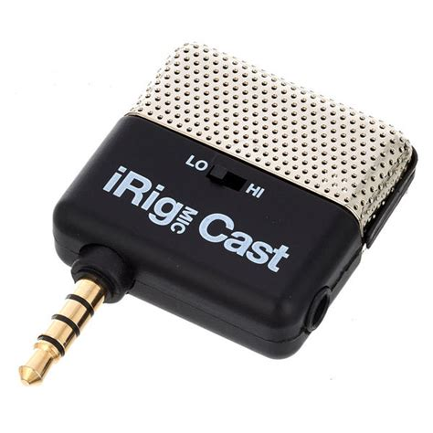 Irig Mic Ik Multimedia Original ik multimedia irig mic cast thomann united states