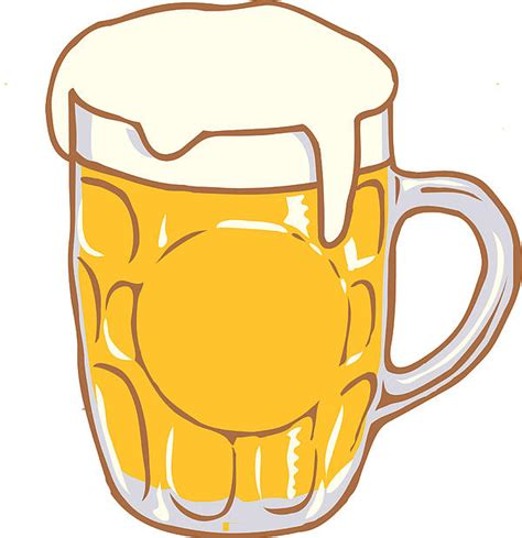 cartoon beer pint beer mug pint clipart design illustration by keith hoffart