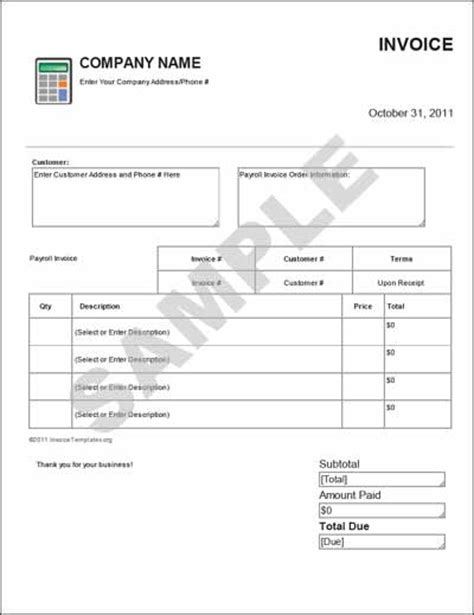 payroll invoice template payroll receipt template 28 images payroll receipt