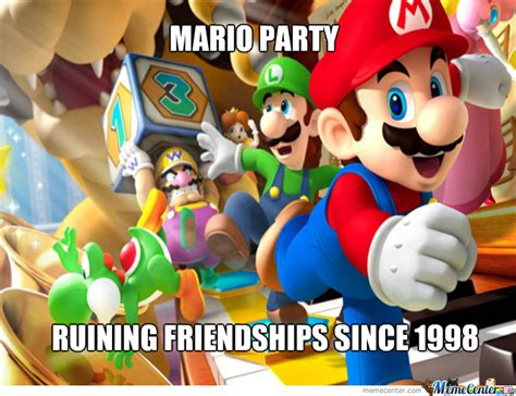Mario Party Memes - scumbag mario party by worthjeanthepro meme center