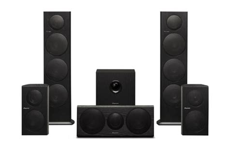 pioneer unveils new speakers for home theatre systems