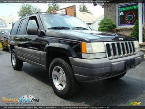 1997 Jeep Grand Laredo 1997 Jeep Grand Laredo 4x4 Black Agate Black