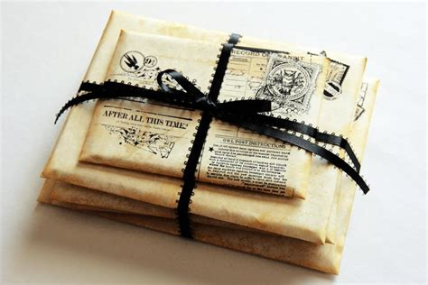 Hogwarts Acceptance Letter With Owl Harry Potter Wedding Ring Box Harry Potter Theme Wedding Harry Potter Quote