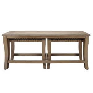 signature design by machias coffee table with