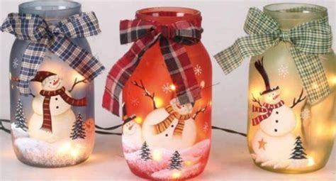 diy christmas painted jars find fun art projects to do