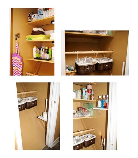 bathroom closet organizing ideas organizing ideas pinterest