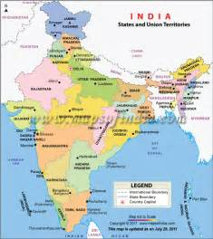 India Map States by Indian States And Union Territories Need 2 Remember