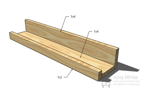 ten dollar ledge shelf diy home projects