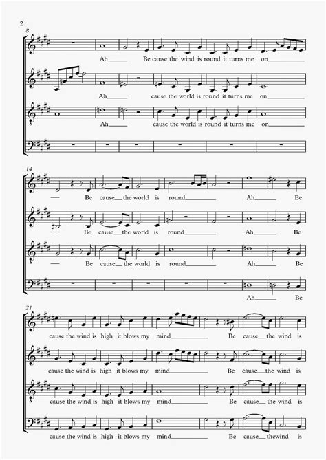 Partitions et Tablatures pour Guitare: The Beatles Because