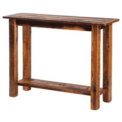 barnwood sofa table barnwood sofa table