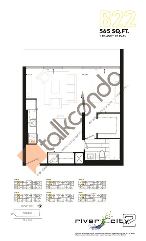 River City Floor Plans by River City Phase 2 Condos Talkcondo