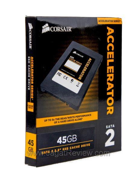 Hardisk Ssd Corsair review corsair accelerator 45gb tingkatkan kinerja disk menggunakan ssd dengan murah