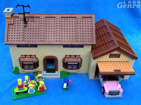 homer simpson dog house the lego simpsons house review 71006 don t have a cow man