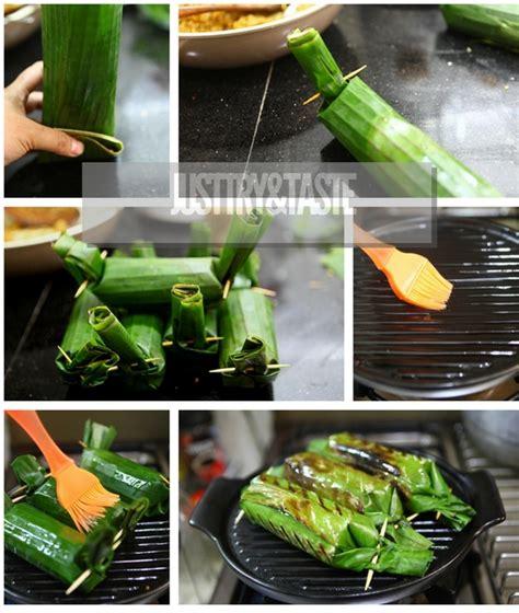 resep nasi bakar tongseng  ayam suwir bali rempah