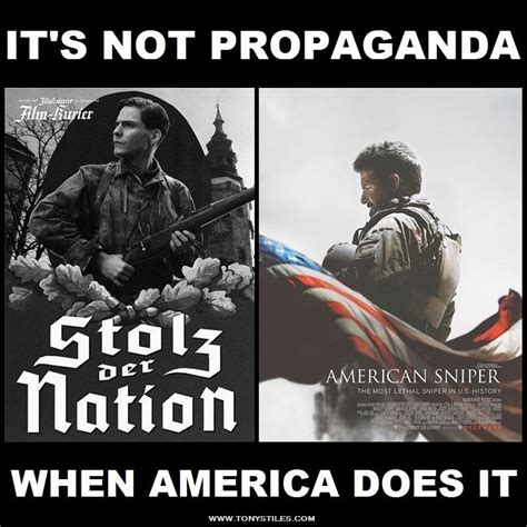 Propaganda Meme - american sniper how can it be propaganda it was made in