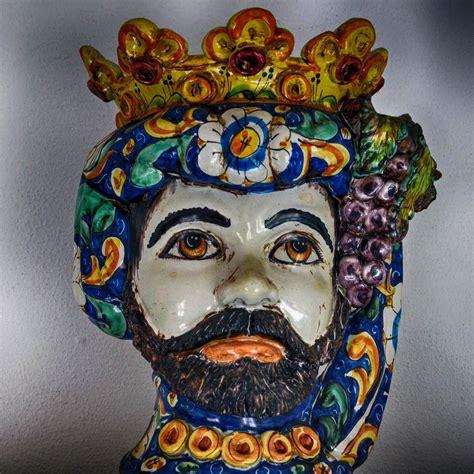 vasi caltagirone di mori vasi e ceramiche il tesoro barocco di