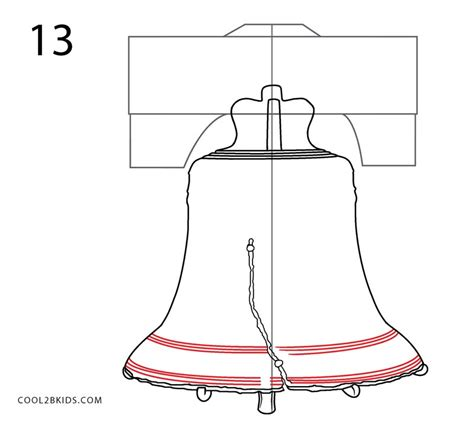 how to draw liberty bell how to draw the liberty bell step by step pictures