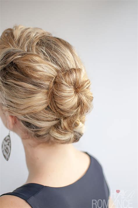 Curly Bun Hairstyles by Curly Hairstyle Tutorial The Bun Hair