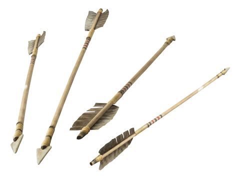 4 more old indian arrows by archangelical stock on deviantart