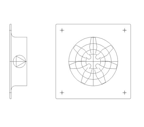 bathroom exhaust fan draw 2d cad ventilation fan cadblocksfree cad blocks free