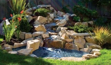 backyard waterfalls kits 17 best images about waterfall ideas on pinterest natural waterfalls indoor