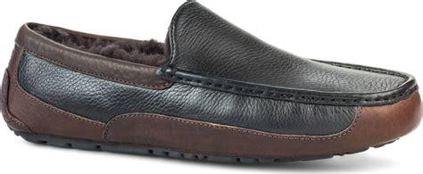 mens ugg ascot leather slippers ugg australia mens ascot leather slippers footwear