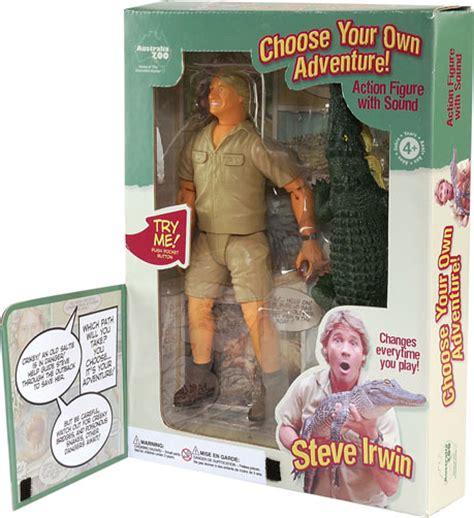 Company To Make Steve Irwin Figure australia zoo steve irwin wildlife adventure raving