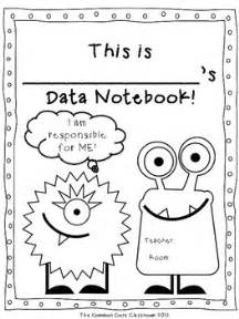data notebook cover page freebie the common