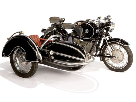 Motorrad Mit Beiwagen Bmw by 1958 Bmw Motorcycle With Steib Sidecar Megadeluxe For
